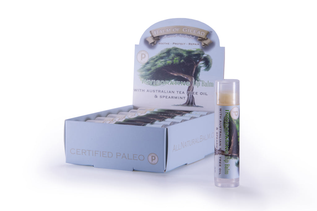 Invigorating Australian Tea Tree & Spearmint Lip Balm