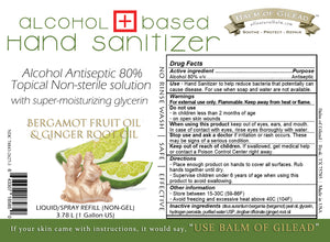 Bergamot & Ginger Hand Sanitizer