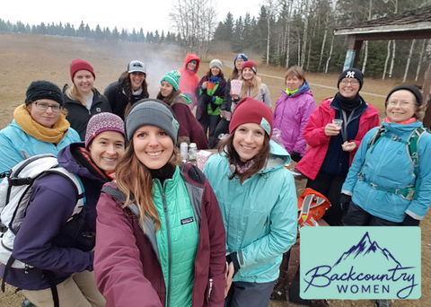 Backcountry Women group