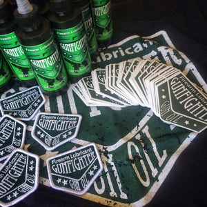 Gunfighter Gun Oil Logo Gear