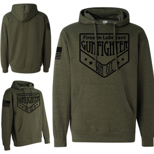OD Gunfighter Gun Oil Logo Hooded Sweatshirt