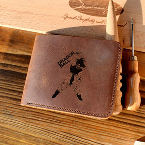 Dragon Ball Genuine Leather Wallet - Saiyan Fever