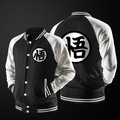 Dragon Ball Z Varsity Bomber Jacket - Saiyan Fever
