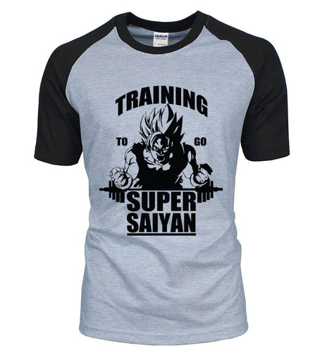 Training To Go Super Saiyan Goku Shirt - Saiyan Fever