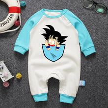 Goku in a Pocket - Baby Clothes Onesie Romper - Saiyan Fever