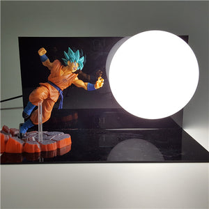 Super Saiyan Blue Goku Dragon Ball Z Lamp - Saiyan Fever