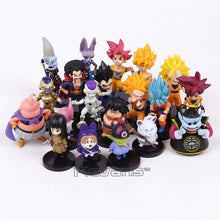 Dragon Ball Super 20 Piece Action Figure Set - Saiyan Fever