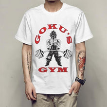 Goku's Gym Workout Shirt - Saiyan Fever
