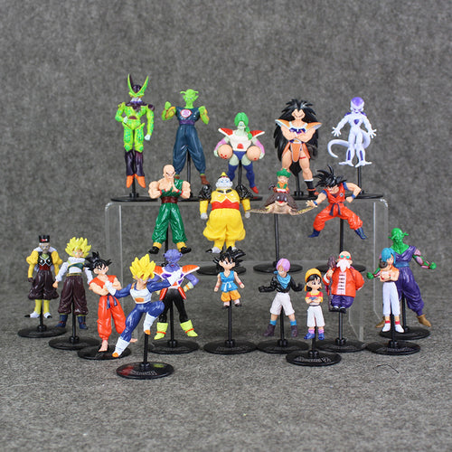 Dragon Ball Z Action Figure Set - 20 Pieces - Saiyan Fever