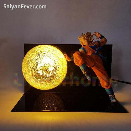 Super Saiyan Goku Blast LED Lamp - Saiyan Fever