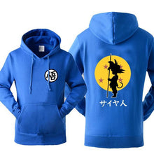 Dragon Ball Z Jacket Hoodie - Saiyan Fever