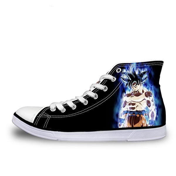 DBZ Ultra Instinct Goku Converse Sneaker Shoes - Saiyan Fever