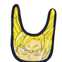 Dragon Ball Z Baby Onesie and Bib - Saiyan Fever