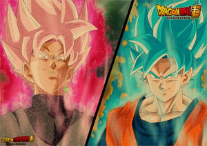 Dragon Ball Super Posters - Goku, Vegeta, Frieza and More! - Saiyan Fever