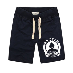 Dragon Ball Battle Saiyan Gym Shorts - Saiyan Fever