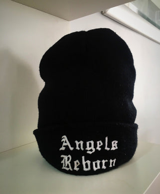 Angels Reborn Black Beanie