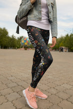 Los Angels Reborn Black Leggings