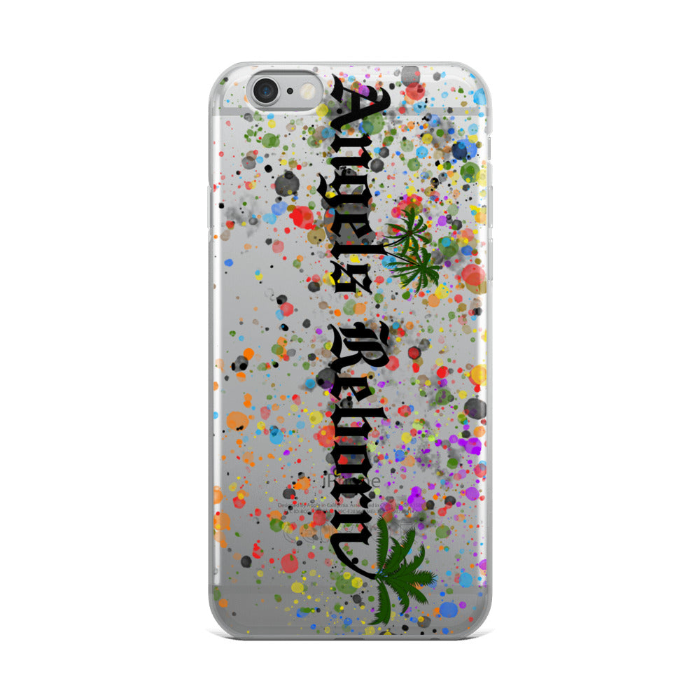 Colorful Palm Tree iPhone Case