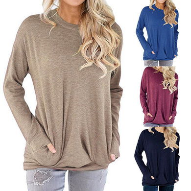 Women Patchwork Long Sleeve