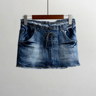 Summer Stretchy Jean skirt