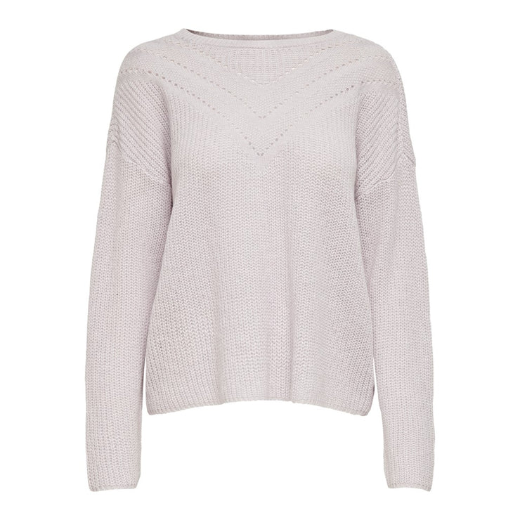 Only Maye Dusty Pink Pullover Knit - Troublemaker.gr