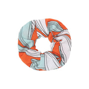Hawaii Orange Scrunchie - Troublemaker.gr