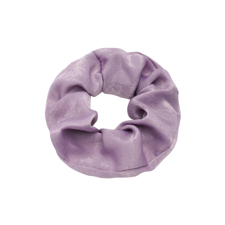 Lilac Satin Scrunchie - Troublemaker.gr
