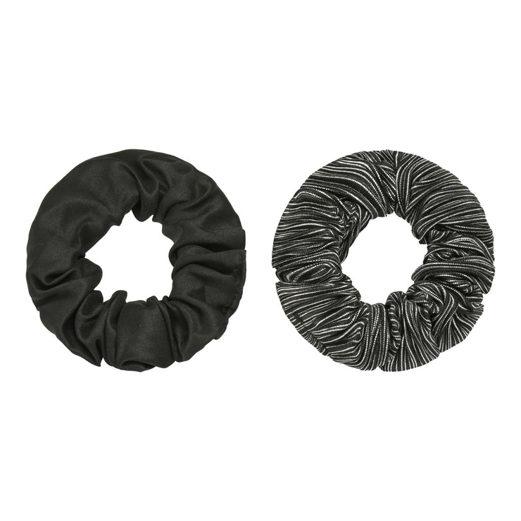 Black Scrunchies Set