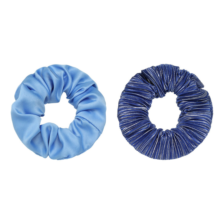 Blue Scrunchies Set