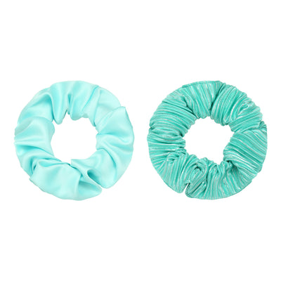 Turquoise Scrunchies Set