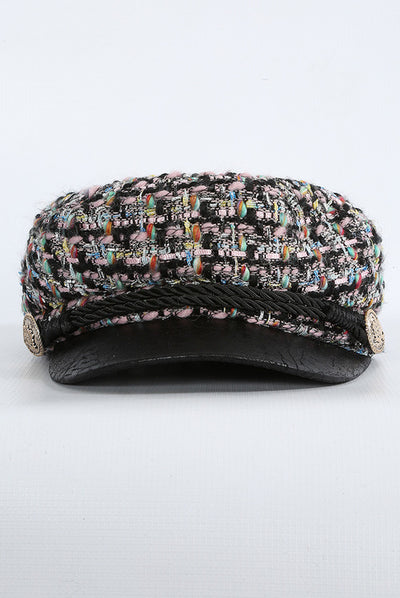 Tweed Baker Boy Hat - Troublemaker.gr