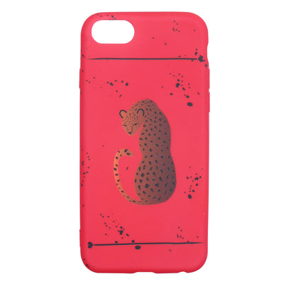 Red Panther iPhone Case - Troublemaker.gr