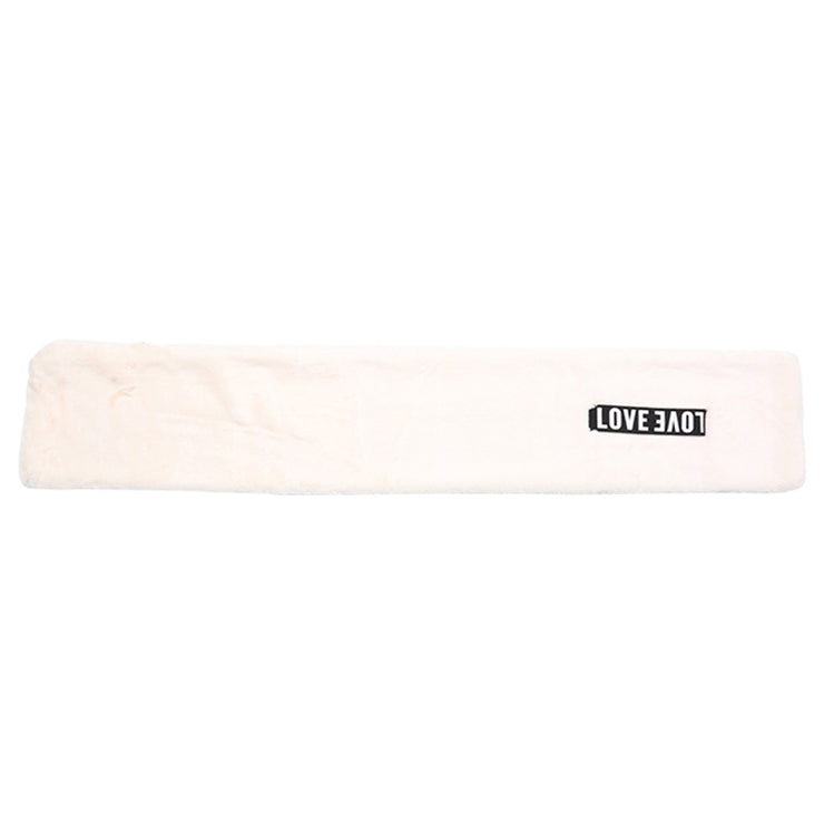 "Off-White Scarf ""Love"" - Troublemaker.gr"