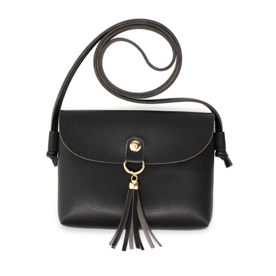 Black Cross Body Bag - Troublemaker.gr