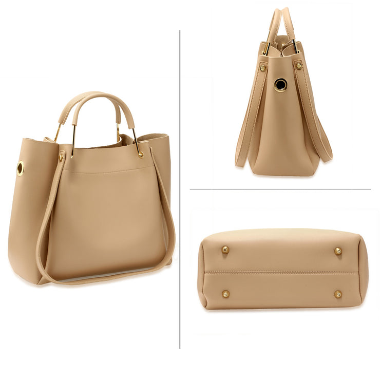 Nude 3-Piece Tote Bag (3 τεμάχια) - Troublemaker.gr