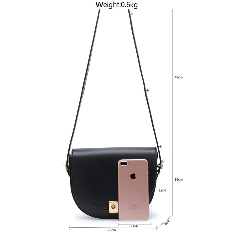 Black Shoulder & Cross Body Bag - Troublemaker.gr