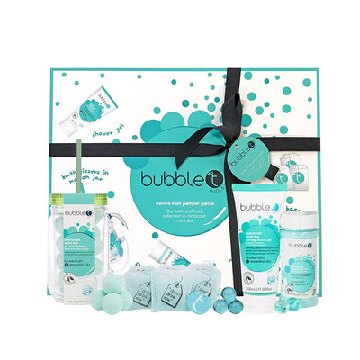 Moroccan Mint Tea Bubble Bath Pamper Gift Set - Troublemaker.gr