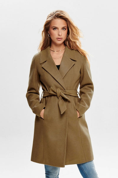 Only Regina Camel Wool Coat - Troublemaker.gr