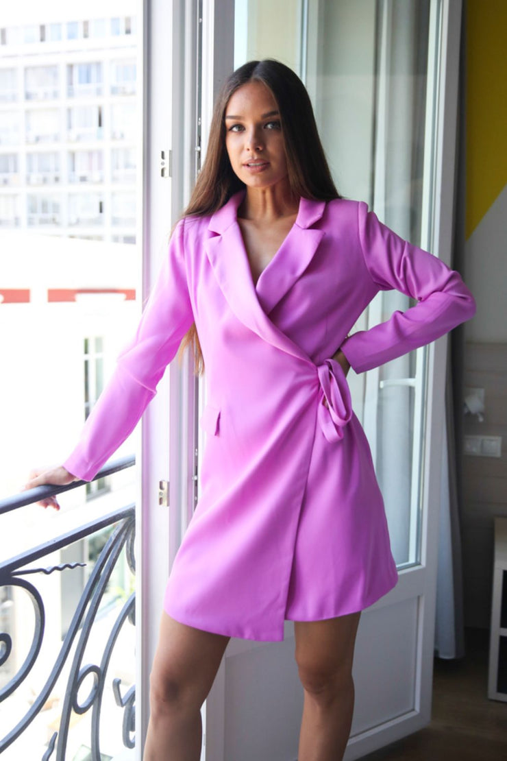 Glamorous Studio Violet Blazer Dress - Troublemaker.gr