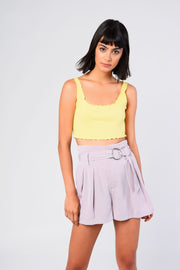 Glamorous Grey Shorts - Troublemaker.gr