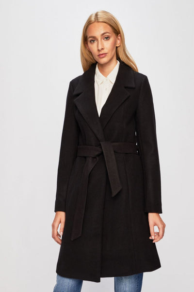 Only Regina Black Wool Coat - Troublemaker.gr