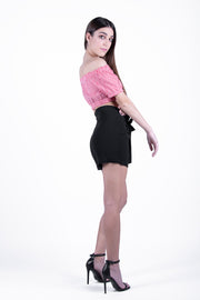 Only Black Solid Shorts - Troublemaker.gr