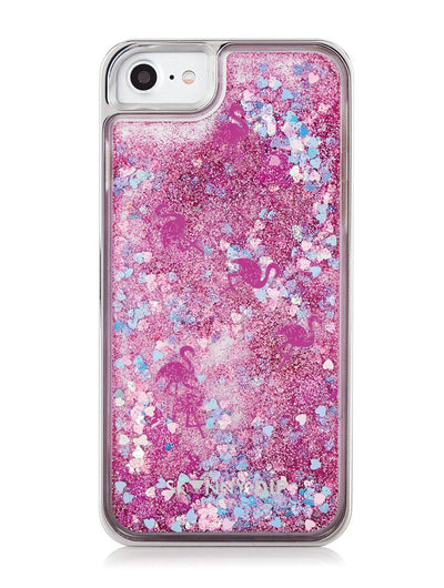 Skinnydip Flamingo Sequin Glitter Case - Troublemaker.gr