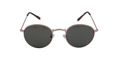 South Beach Dark Rounded Lens Sunglasses - Troublemaker.gr