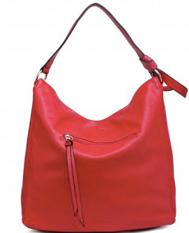 Red Hobo Shoulder Bag - Troublemaker.gr