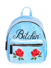 Skinnydip Velvet Backpack - Troublemaker.gr
