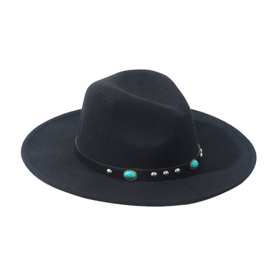 Black Boho Hat - Troublemaker.gr