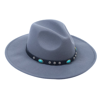 Grey Boho Hat - Troublemaker.gr