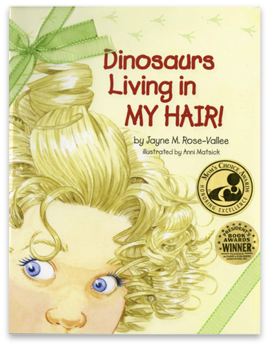 Dinosaurs live in my hair #1 image