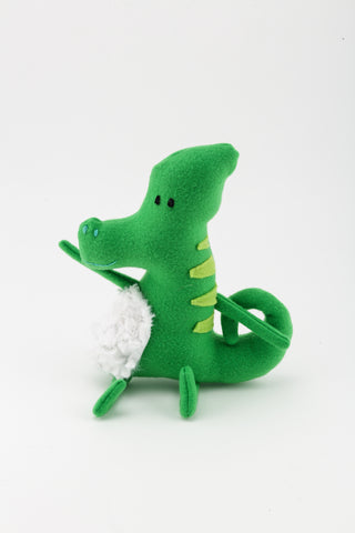 Plush DLIMH Toy In Green